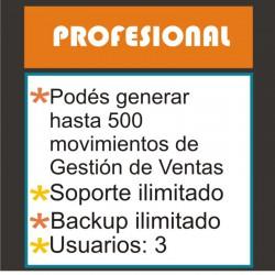 """Plan PROFESIONAL- Sistema de ventas on-line: """"Mi Negocio Sistema Control©"""""""