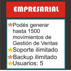 """Plan EMPRESARIAL- Sistema de ventas on-line: """"Mi Negocio Sistema Control©"""""""